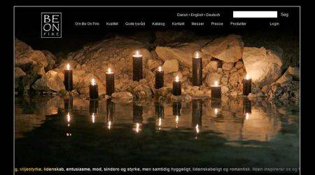Virtual catalog for candles